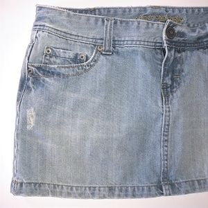 American Eagle Outfitters Skirts - American Eagle Distressed Denim Skirt Size 10